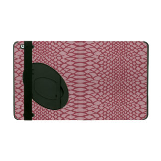 Pink Snake Print iPad Cases