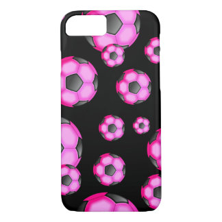 Pink Soccer Fun Case