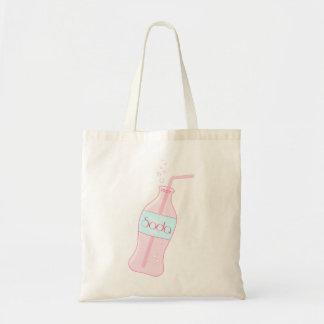 Pink Soda Tote Bags