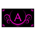 pink sophistications business card template