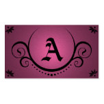 pink sophistications business cards