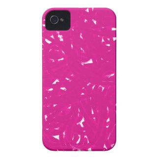 Pink Spaghetti iPhone 4 Case-Mate Case