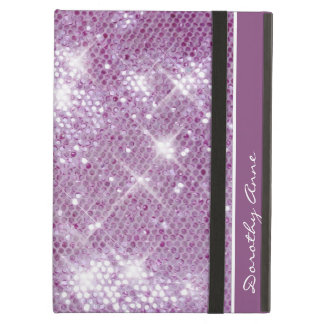 Pink Sparkle-Look Cover For iPad Air