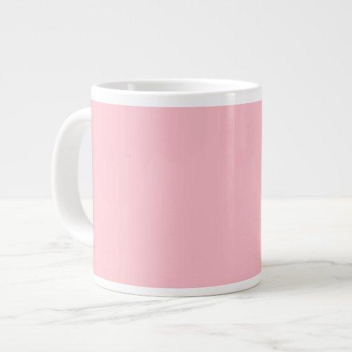 Pink Jumbo Mugs