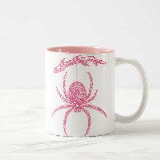 Pink Spider Mugs