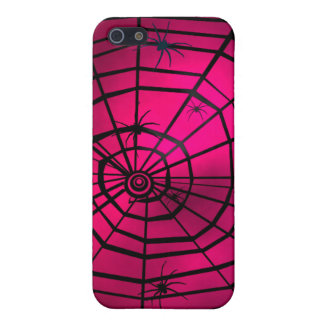 Pink Spiders Web iPhone Case iPhone 5 Case