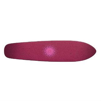 Pink Spinner Mandala Skateboards