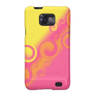 pink spiral Case-Mate Case Galaxy S2 Case