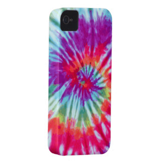 Pink Spiral Tie-Dye Case-Mate iPhone 4 iPhone 4 Cases