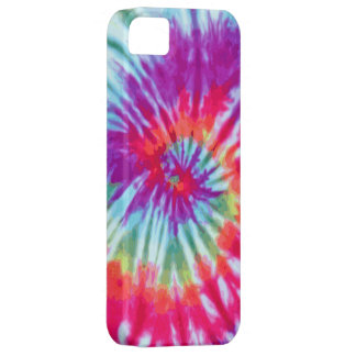 Pink Spiral Tie-Dye Case-Mate iPhone 5 Barely There iPhone 5 Case