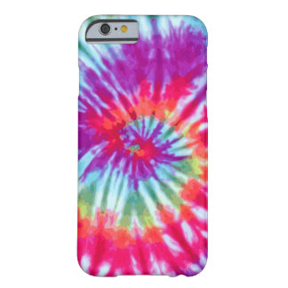 Pink Spiral Tie-Dye iPhone 6 case Barely There iPhone 6 Case
