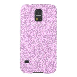 Pink Spirals Galaxy S5 Cases