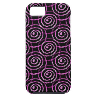 Pink Spirals Case For The iPhone 5