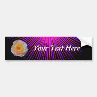 Pink Spirit Rose Bumper Sticker