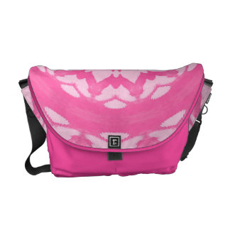 Pink Splash. Messenger Bag