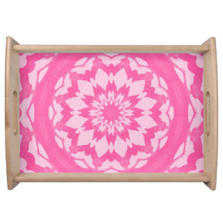 Pink Splash. Serving Tray