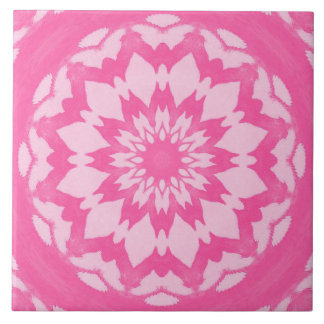 Pink Splash. Tile