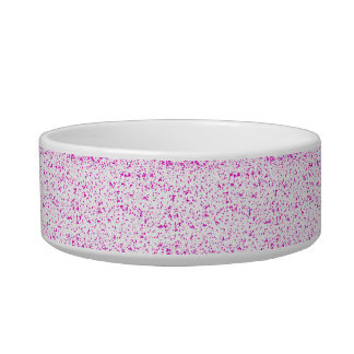 Pink Spotted Pet Bowl