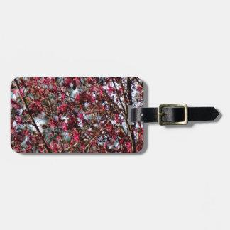 Pink Spring Blooms Luggage Tag