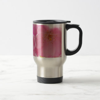Pink Spring Blossoms Stainless Steel Travel Mug