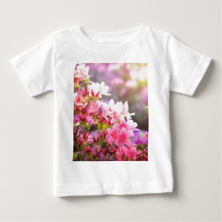 Pink spring flowers baby T-Shirt