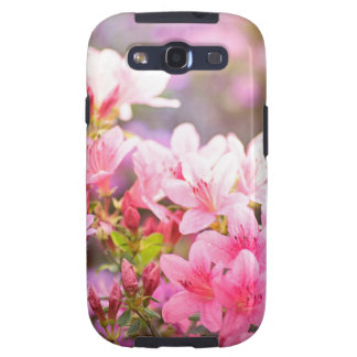 Pink spring flowers galaxy SIII covers