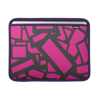 pink square sleeve for MacBook air