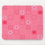 Pink Squared Mousepad