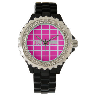Pink Squares Watches