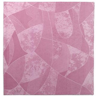 Pink Stain Glass Napkins