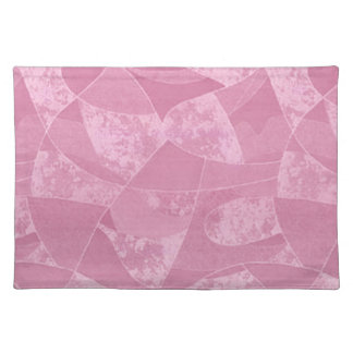 Pink Stain Glass Placemat