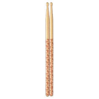 Pink Standard Ribbon Drum Sticks