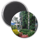 Pink Stanley Park, Vancouver flowers Refrigerator Magnet