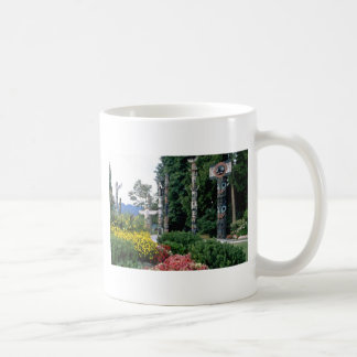Pink Stanley Park, Vancouver flowers Classic White Coffee Mug