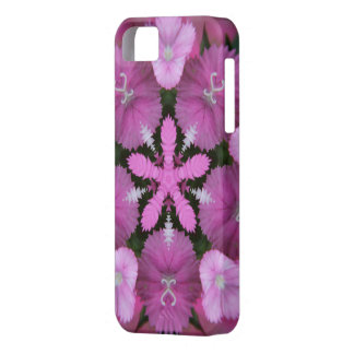 Pink Star Flower Bouquet iPhone 5/5S Cover