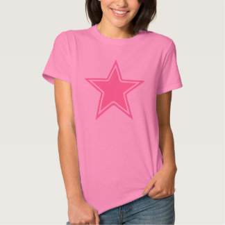 Pink Star Shirts