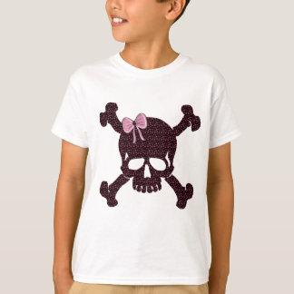 Pink Star Skull T-Shirt