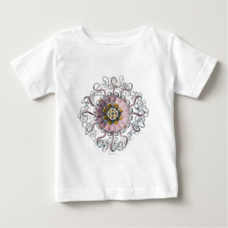 Pink starfish baby T-Shirt