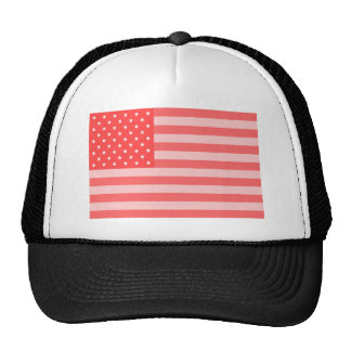 Pink Stars and Stripes Cap