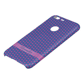 Pink stars on a blue background uncommon google pixel XL case