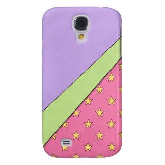 Pink Stars Samsung Galaxy S4 Cover