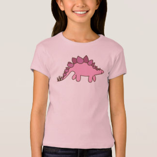 Pink Stegosaurus T-Shirt