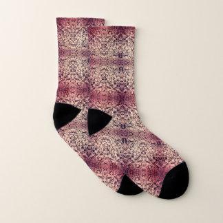 Pink Stone Garden Socks
