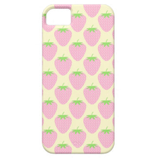 Pink Strawberry Pattern. iPhone 5 Case