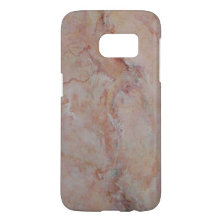 Pink striated marble stone finish