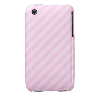 Pink Stripes. iPhone 3 Case-Mate Cases