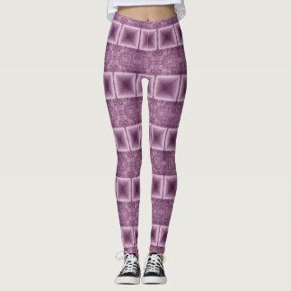 Pink Stripes Horizontal leggings