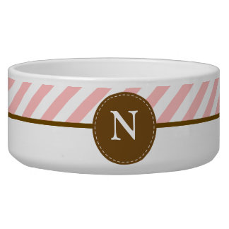 Pink Stripes Monogram