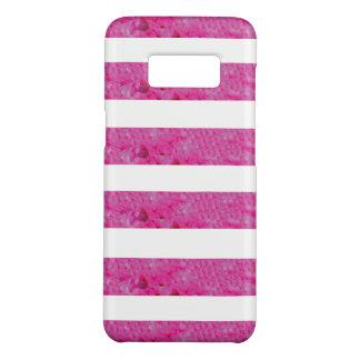 Pink Stripes Samsung Galaxy S8 Case
