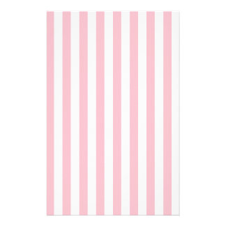 Pink Stripes Stationery
